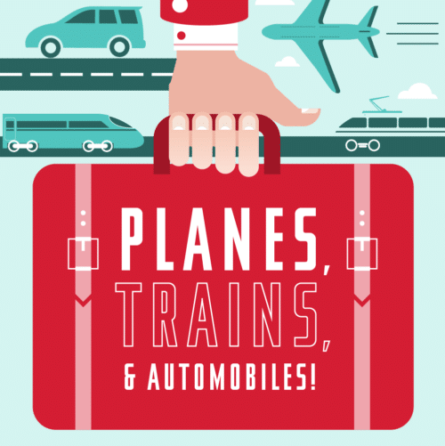 Thumbnail of transportation infographic.