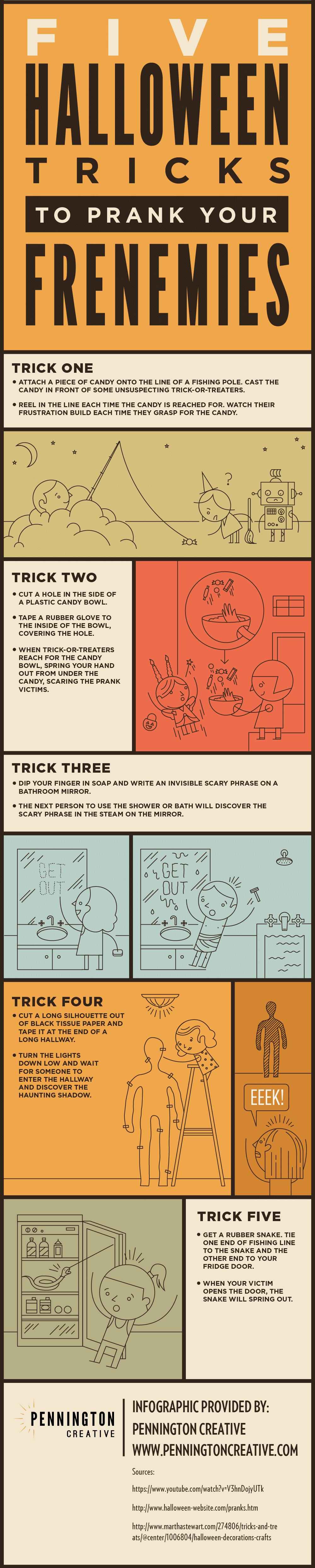 Halloween Pranks Infographic