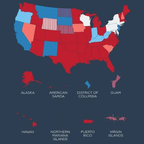 Thumbnail of 2016 election infographic.