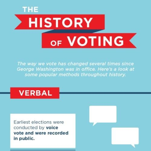 Thumbnail of voting history infographic.