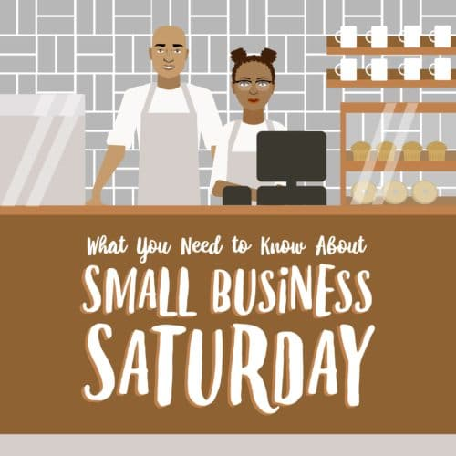 Thumbnail of infographic about Small Business Saturday.