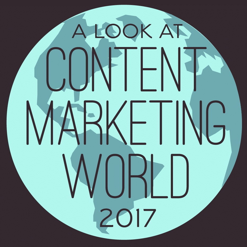 Thumbnail preview of infographic about 2017 Content Marketing World.