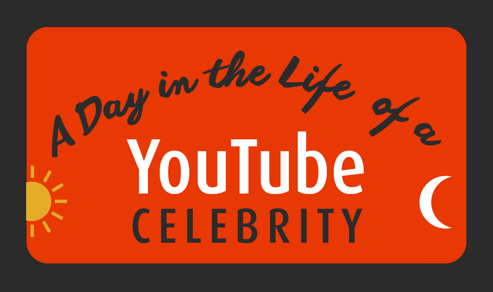 Thumbnail preview of infographic about YouTube celebrities.