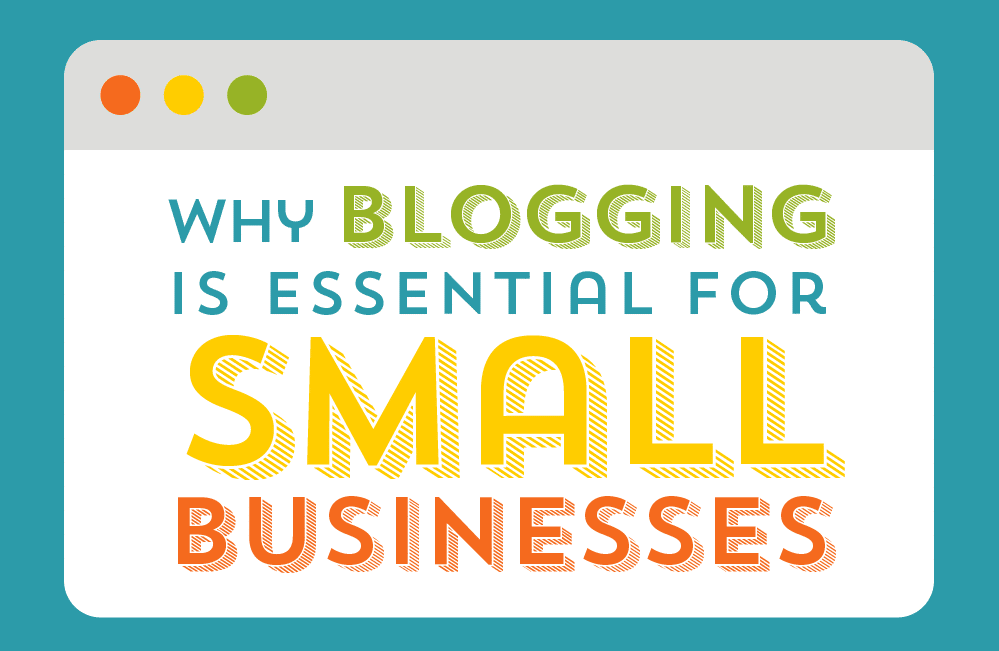 Thumbnail preview about the importance of blogs for small businesses.