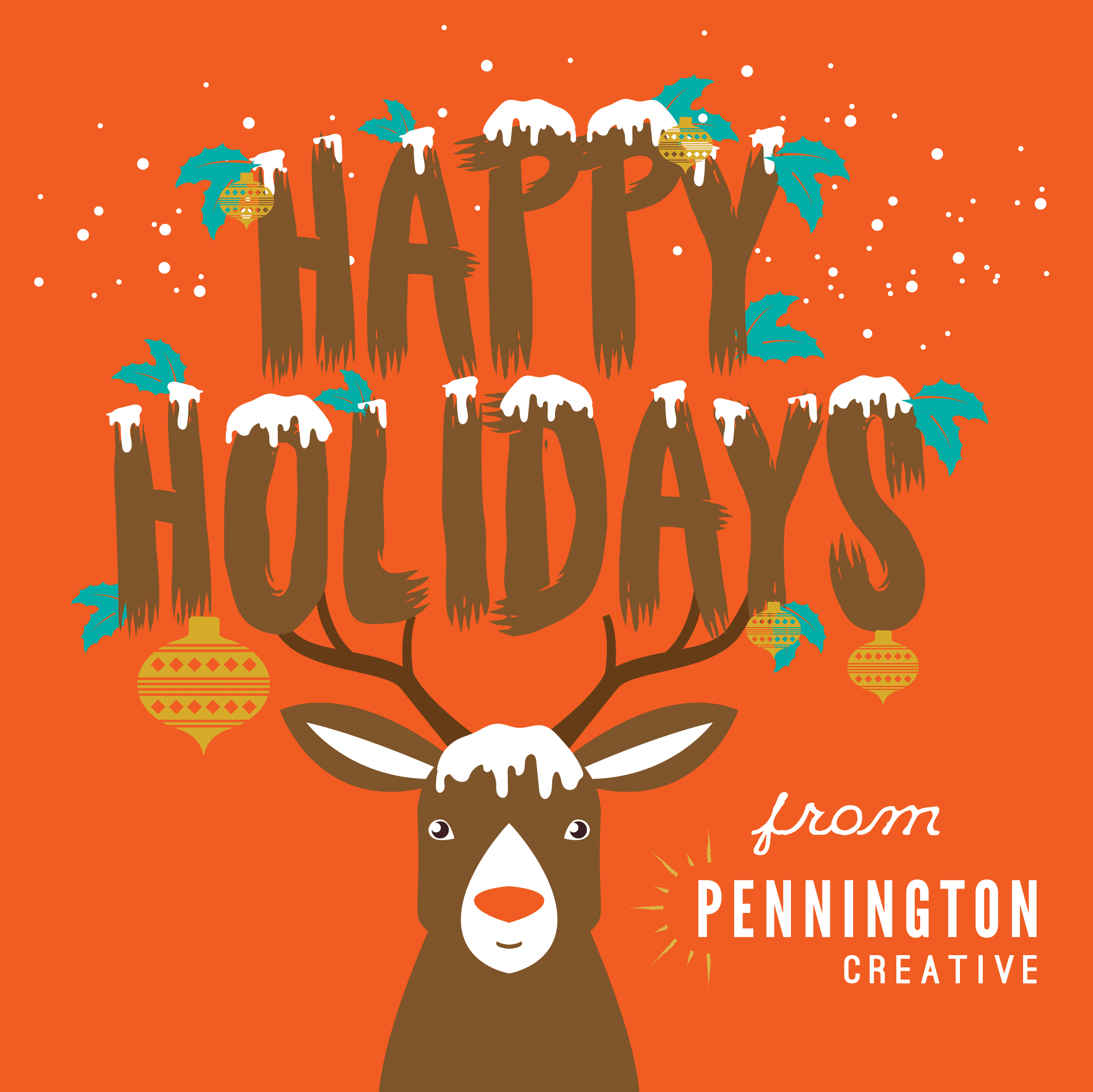 2018 Pennington Creative Holiday Card