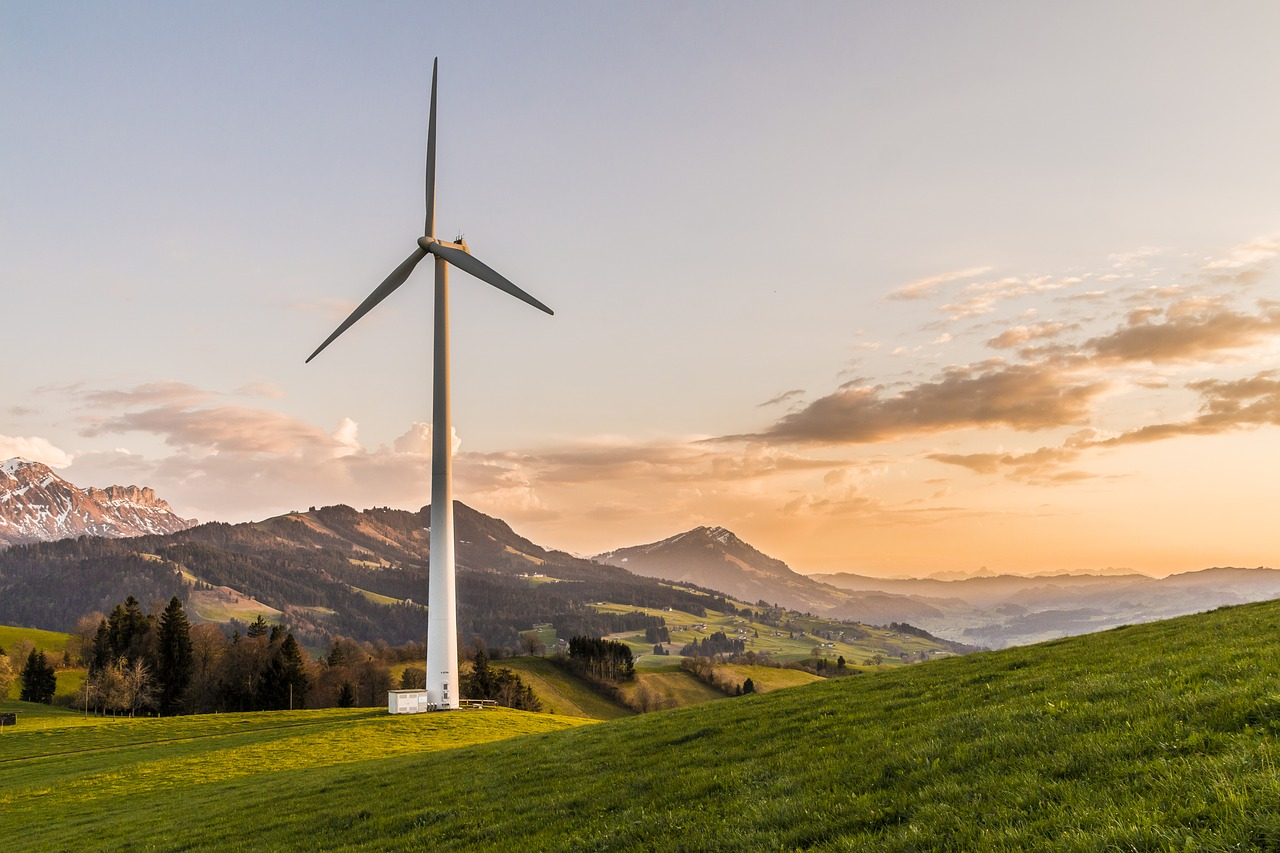 Wind energy can be highlighted as part of a green digital marketing campaign.